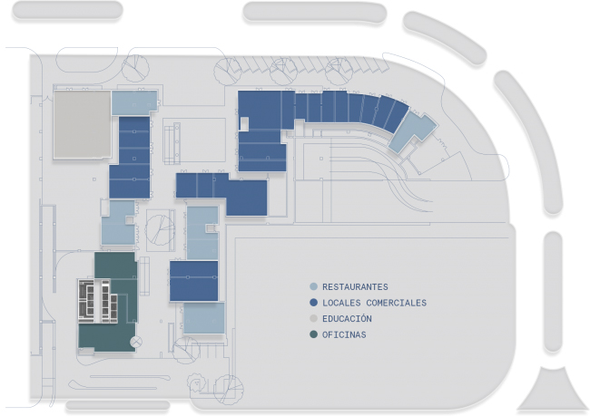 planta comercial nivel 1 distrito armida