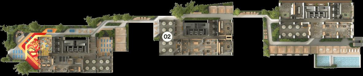 amenidades t2-02 distrito armida