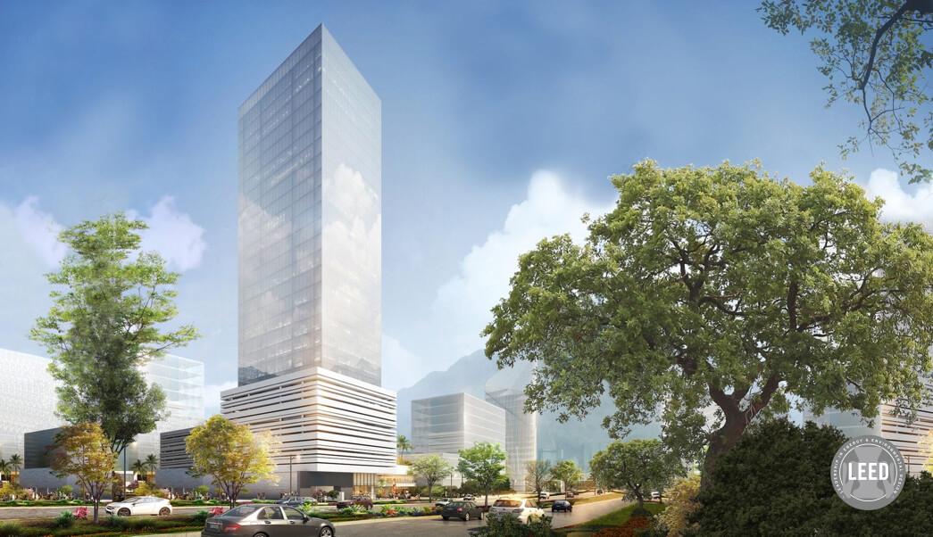 oficinas exterior torre malva distrito armida