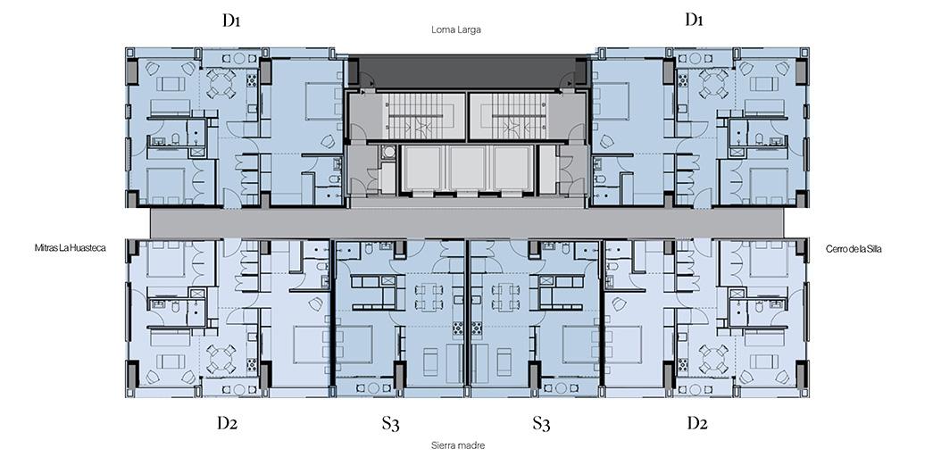 mapa edificios